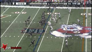 Derek Carr vs Utah State (2013)