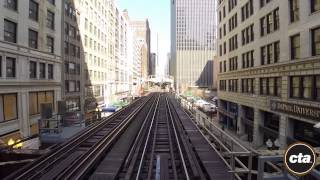 Chicago, Brown Line in Real Time.