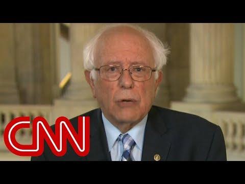 Bernie Sanders speaks on Trump's possible SCOTUS nominee