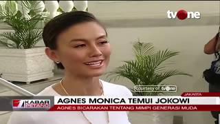 Video Agnes Monica Bertemu Presiden Jokowi di Istana Negara MP3, 3GP, MP4, WEBM, AVI, FLV Maret 2019