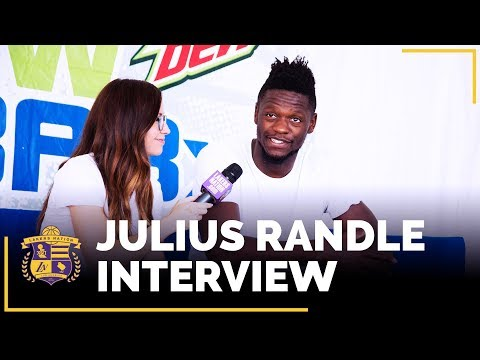 Video: Julius Randle Interview: Lonzo Ball, Kobe Bryant, Defensive Focus, Year 4 Expectations