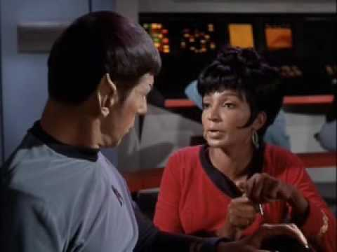 Spock - I love Spock and Uhura but unfortunately we only saw glimpses of them together on the original series. Moments from Who Mourns for Adonais?, Charlie X, That ...