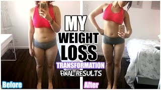 MY 4 MONTH WEIGHT LOSS BODY TRANSFORMATION!