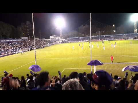 Gol Defensor vs DanuBio hinchada - La Banda Marley - Defensor