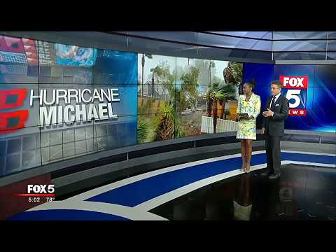 Hurricane Michael slams Panama City Beach