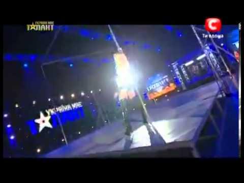 Pole Dance: Impresionante bailarina ucraniana