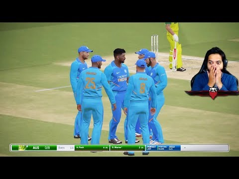 India vs Australia Match Highlights With Hindi Commentary (Cricket Gameplay)