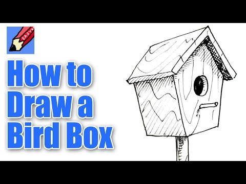 How to draw a Bird Box Real Easy Shoo Rayner Author