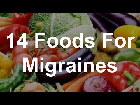 14 Foods For Migraines - Best Foods For Migraines