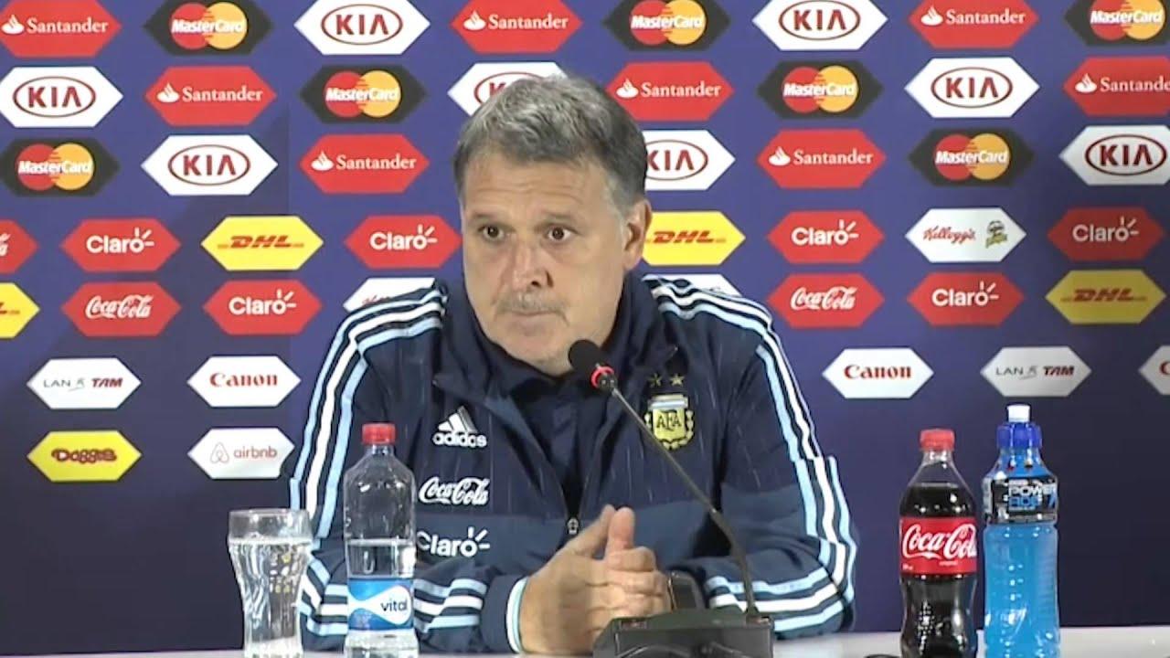 """Copa América 2015: Martino: """"Quem joga é o jogador"""