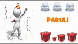 Jan 15, 2012 ... HAPPY BIRTHDAY PARUL! HAPPY BIRTHDAY ... Tum Jiyo Hazaaro Saal nHappy Birthday Song  Hindi Film Song  Animated Song by...