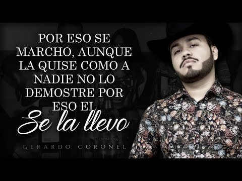 (LETRA) ¨LE PROMETIERON¨ - Gerardo Coronel Ft La Kultura (Lyric Video)