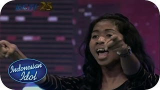 Madiun Indonesia  city photos : EZA - JANGAN TUSUK DARI BELAKANG (Mahadewi) - Audition 2 (Madiun) - Indonesian Idol 2014