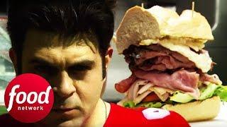 Video Adam Takes On The 2.5 LB Dagwood Sandwich In Ohio | Man v Food MP3, 3GP, MP4, WEBM, AVI, FLV Agustus 2019