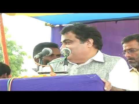 Shri Nitin Gadkari address public rally in Jagdishpur dist. Bhojpur Bihar