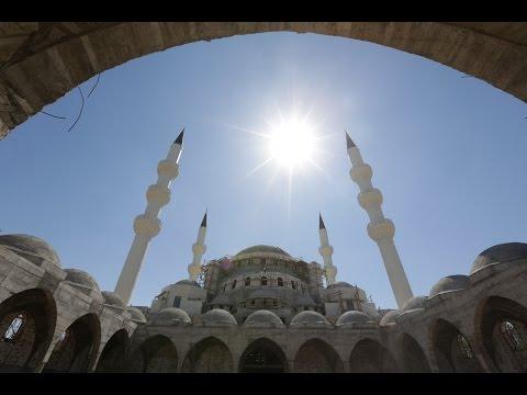 '' Kırgızistan/Bişkek Camii Orta Asyanın En Büyük Camii Olacak''