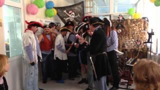 Выступление пиратов - Поздравление к 8 марта