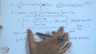 Mod-01 Lec-09 Modal Analysis: Approximate Methods - I