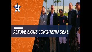 Video Jose Altuve, Houston Astros excited by new contract extension through 2024! MP3, 3GP, MP4, WEBM, AVI, FLV Juni 2018