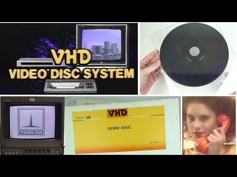 VHD in the UK - how 1980s UK missed out on this interactive video & games format