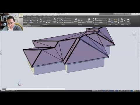 Disegno di un tetto a padiglione: esercizio n°1