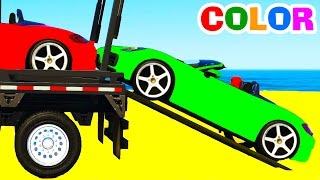 Learn color car transportationOther fun videos:Lightning McQueen carshttps://youtu.be/a0dONgU3kU4SUV cars transportationhttps://youtu.be/xRDgHu4sbT8Learn numbers with Mack truckhttps://youtu.be/Ael2QgWKTRULearn colors and long carshttps://youtu.be/pbazhAlSTlcFun helicopter for kidshttps://youtu.be/sIIDm0Zqpyk