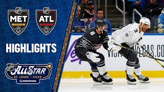 Pastrnak, Duclair lead Atlantic All-Stars over Metro by NHL