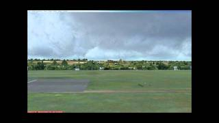 FSX Cirrus SR-22 Touchdown At EPGD Amazing - Polish Airports FEX REX GEX UTE FSGlobal 2010 HD