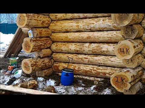Советы строителей по выбору пропитки для обработки сруба зимой