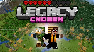 SO MANY VILLAGES! Legacy Chosen Challenge - Day 5 [Minecraft 1.16 Multiplayer]