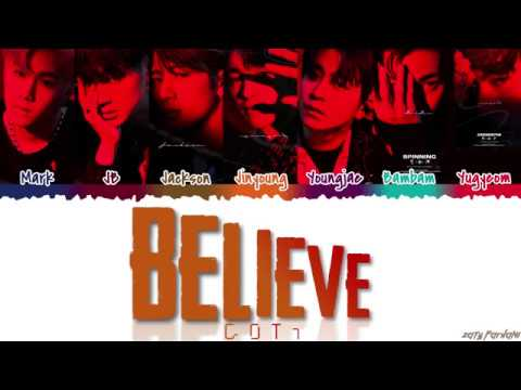 GOT7 (갓세븐) - 'BELIEVE' Lyrics [Color Coded_Han_Rom_Eng]