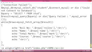 PHP MySQL Tutorial: How To View Or Retrieve Data Or Records In MySQL Database Using PHP
