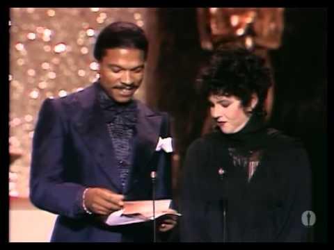"""John Alcott winning the Oscar® for Cinematography for """"Barry Lyndon"""""""