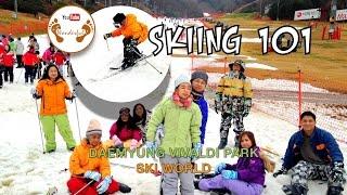 Muju-gun South Korea  city pictures gallery : Wanderful: Skiing 101 at Daemyung Vivaldi Park Ski World | Hongcheon-gun, Kangwon | South Korea
