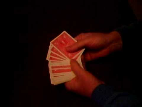 How to perform a card prediction magic card trick