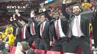 Every Maryland Basketball game, seven students from the University dress up in suits, put baby powder in their hair and call themselves the Turgeonites, after Maryland's coach Mark Turgeon.
