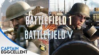 Battlefield V VS. Battlefield 1 - Attention To Details
