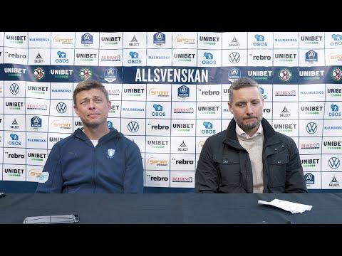 Presskonferens ÖSK - MFF