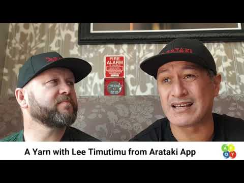 A Yarn with Lee Timutimu