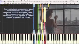 Ромашки спрятались - Сопрано 10 (Вокальная партитура, Ноты)