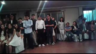 Baile Cueca- Gonzalo, Edson y Danae ♡