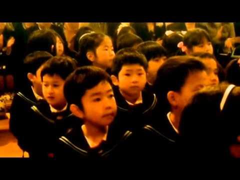 日吉幼稚園卒園式2014年3月20日