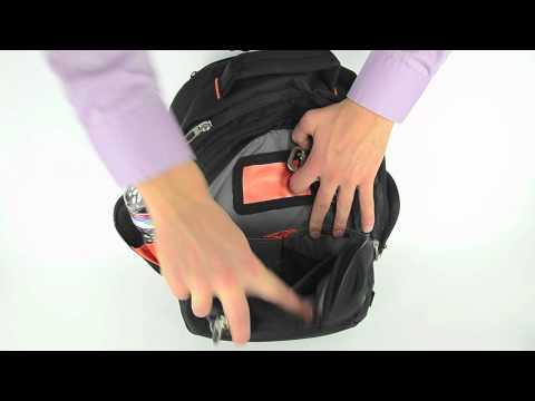 Neotec Custom Logo Rolling Laptop Backpack