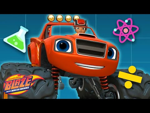 Blaze's STEM Ideas Save the Day! | Blaze and the Monster Machines