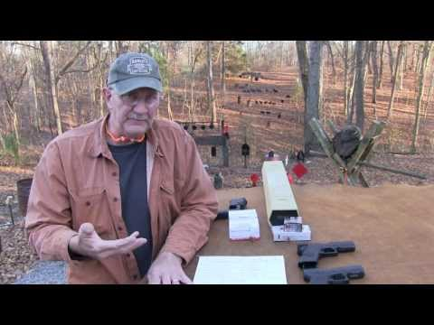 LENGTH - A discussion and comparison of velocity from three different size Glock models, the G26, G19, & G17. The comparison involves Winchester White Box and Hornady...