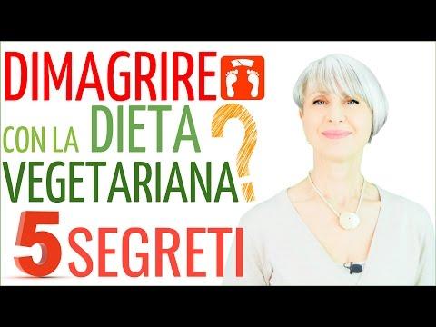 5 segreti per dimagrire con la dieta vegetariana