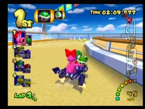 birdo - Me playing as Yoshi & Birdo, winning gold medal + 40 points. Mario Kart: Double Dash!! is a racing game developed by Nintendo Entertainment Analysis and Deve...