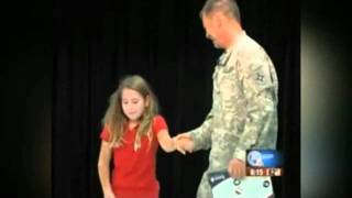 Oct 9, 2011 ... Up next. Soldier Surprises Daughter at Spelling Bee: Emotional Reunion Caught non Tape - Duration: 1:44. ABC News 1,498,821 views · 1:44 ...