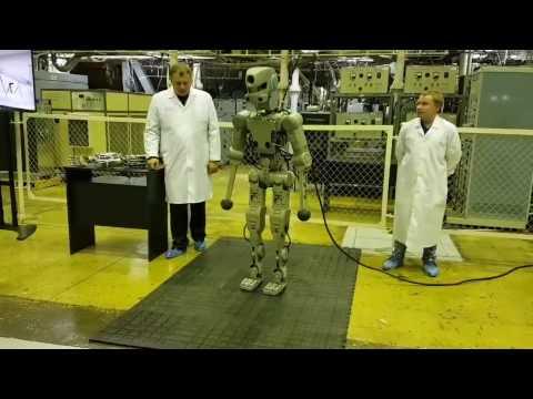 Новый российский человекообразный робот