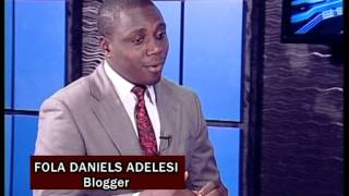 Fola Daniel On Blogging: What, Why, How (Lagos Television)